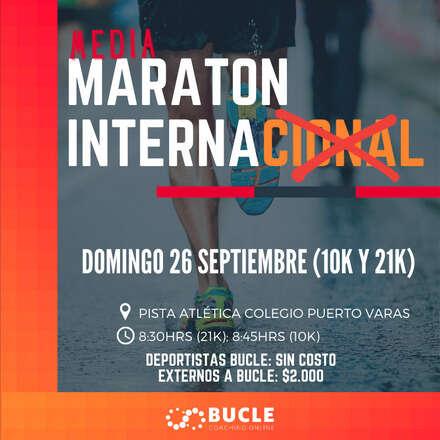 Half Maratón Interna