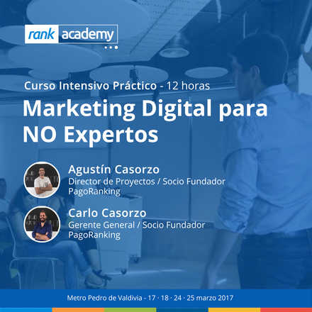 Curso Intensivo Marketing Digital para No Expertos