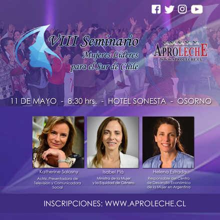 Seminario Mujeres Líderes para el Sur de Chile