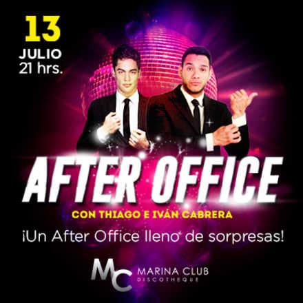 After Office con Thiago Cunha e Iván Cabrera