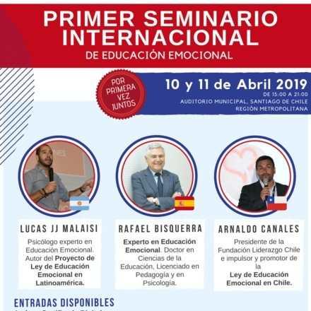 """Seminario Internacional de Educación Emocional """" Educando emociones para una mejor sociedad"""""""