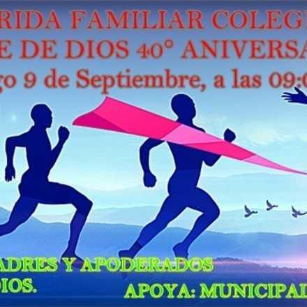 Corrida Aniversario Colegio Madre de Dios