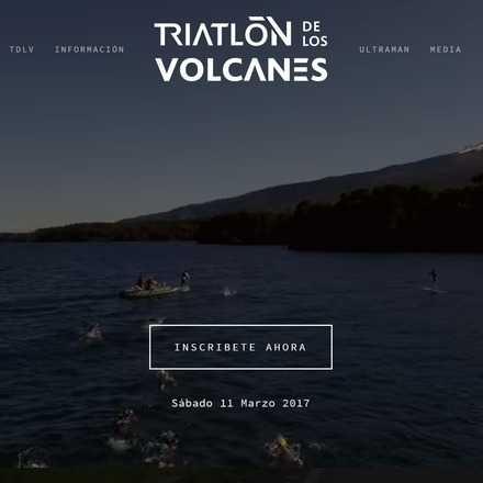 Triatlón de Los Volcanes 2017
