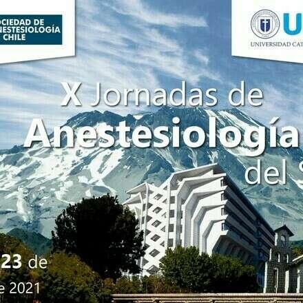 X Jornadas de Anestesiología del Sur
