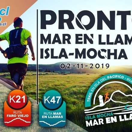 Trail Mar en LLamas-Isla Mocha