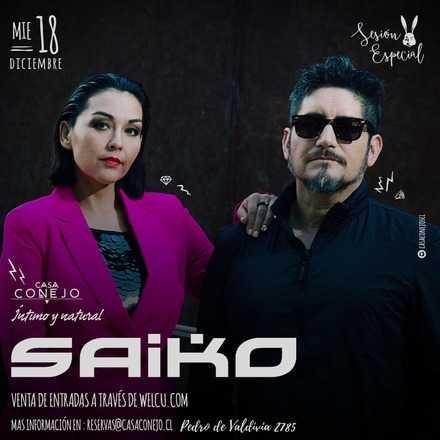 Saiko en Casa Conejo