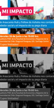 """""""Mi pega = Mi impacto"""": Ciclo de Charlas"""