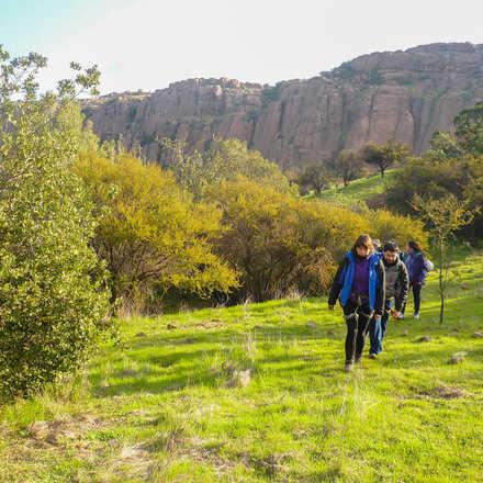 Trekking + Escalada Malku - Cuesta Chacabuco