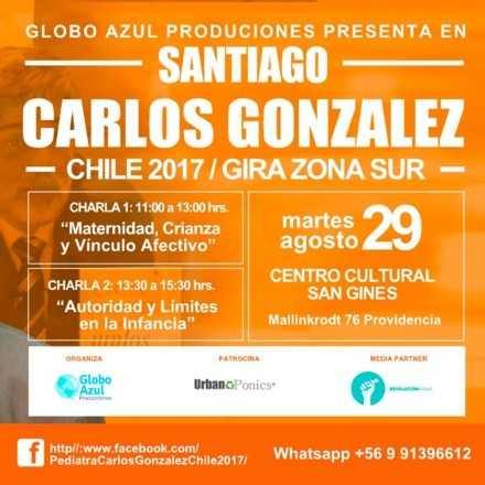 Dr. Carlos González en Chile 2017 - Santiago