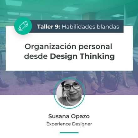 Organización personal desde Design Thinking