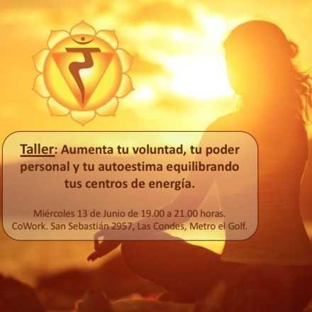 Aumenta tu voluntad, tu poder personal y tu autoestima equilibrando tus centros de energía.