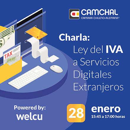 Charla: Ley del IVA a Servicios Digitales Extranjeros