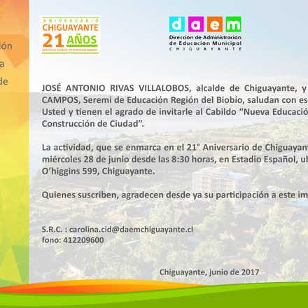 """Cabildo """"Nueva Educación Pública para la construcción Ciudad"""""""