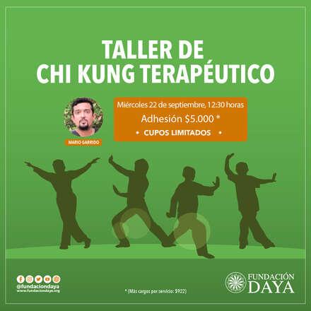 Taller de Chi Kung Terapéutico 22 septiembre 2021