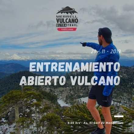 Entrenamiento Abierto Vulcano