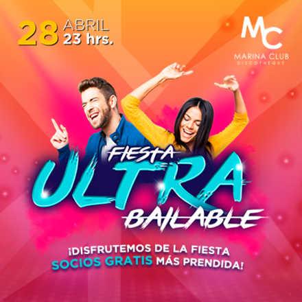 Fiesta Ultra Bailable Socios Gratis