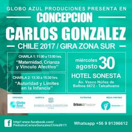 Dr. Carlos González en Chile 2017 - Concepción