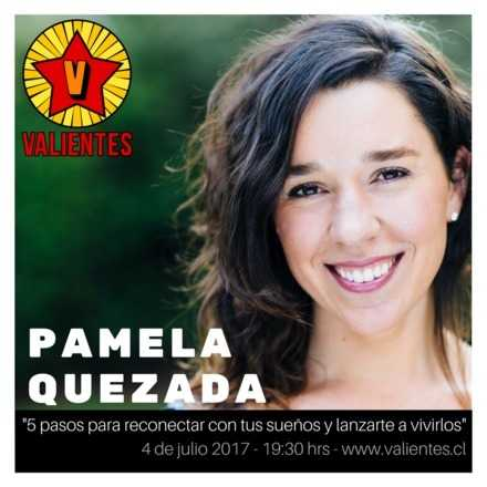 CHARLA VALIENTES 4 DE JULIO - Pame Quezada
