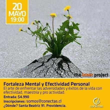 Charla de Fortaleza Mental y Efectividad Personal