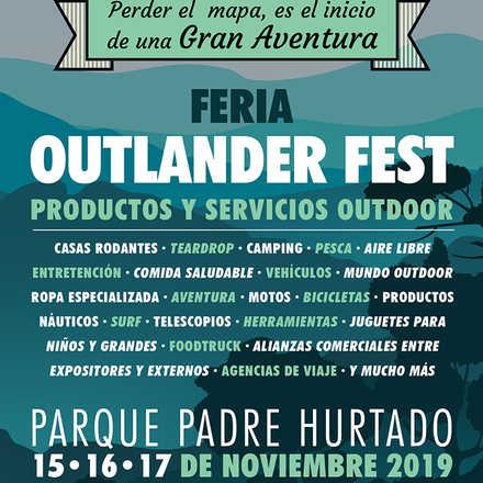"""Feria de productos y servicios outdoor """"OUTLANDER FEST"""""""