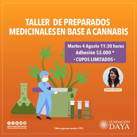 Taller de Preparados Medicinales en Base a Cannabis 4 agosto
