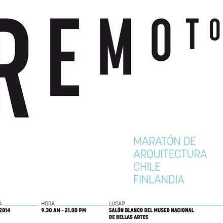 REMOTOS. Maratón de Arquitectura Chile - Finlandia