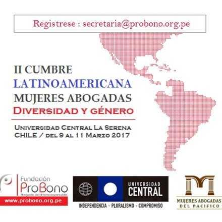 Cumbre Latinoamericana de Mujeres Abogadas 2017