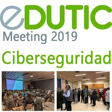 EDUTIC Meeting: Ciberseguridad (Workshop)