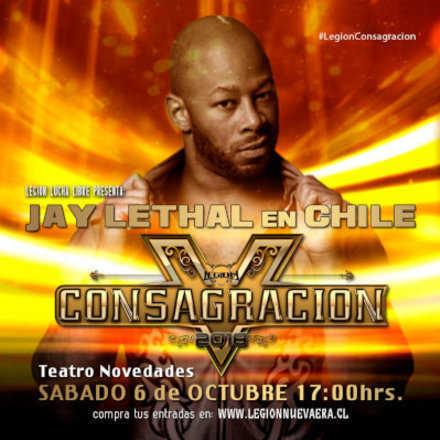 Legión Lucha Libre presenta: Consagración