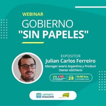 """Webinar: Gobierno """"Sin papeles"""""""