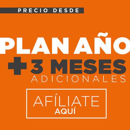 AFILIACIÓN PLAN AÑO+3 MESES GRATIS