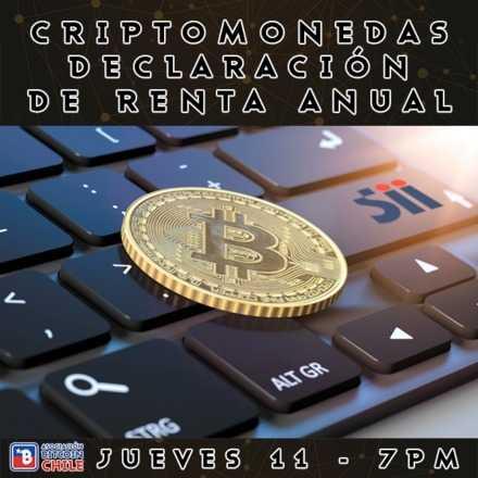 Criptomonedas y Declaración de Renta Anual