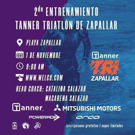 Segundo Entrenamiento Tanner Triatlón Zapallar