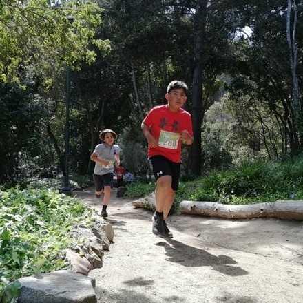 3a fecha campeonato escolar Trail Running Zapallar