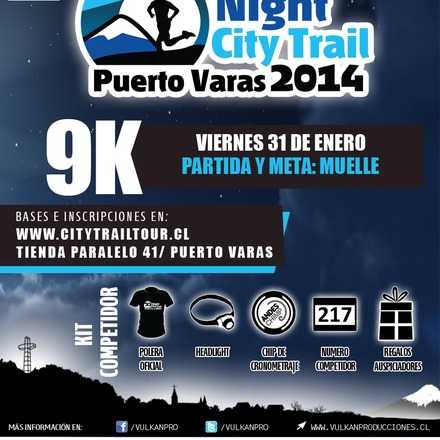 Night City Trail Puerto Varas 2014