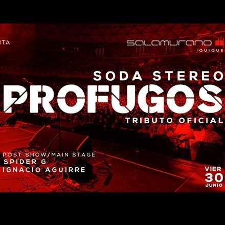 "Mistral Presenta: ""Profugos"" Tributo Oficial Soda Stereo"