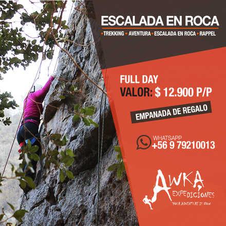 Trekking + Escalada en roca  + Rappel