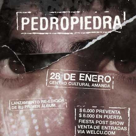 PEDRO PIEDRA EN AMANDA / 28 ENERO 2015.