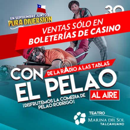 """""""CON EL PELAO AL AIRE 2016"""""""