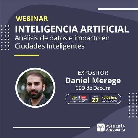Webinar: Inteligencia Artificial, análisis de datos e impacto en Ciudades Inteligentes