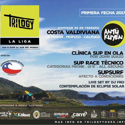 LIGA TRILOGY - SUP RACE TECNICO - COSTA VALDIVIANA 2017