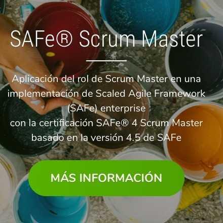 Certificación SSM - SAFe Scrum Master  4.5