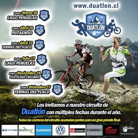 Duatlón Aventura Aconcagua - Fecha 5 - Santa Elena Chicureo