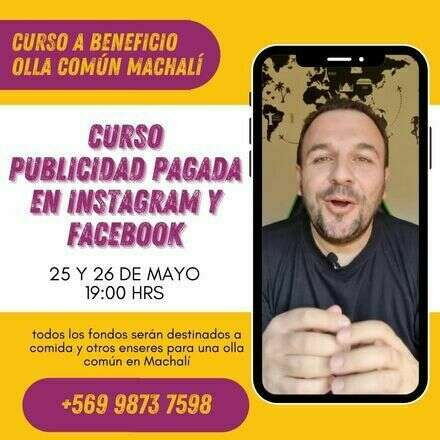 Facebook Ads a Beneficio Olla Común Machalí