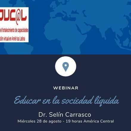 Webinar Educar en la sociedad líquida