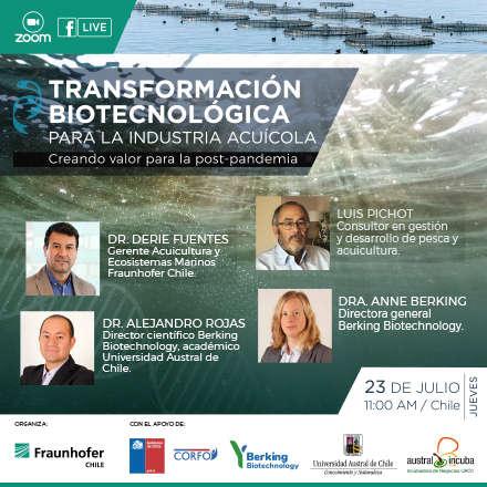 Transformación Biotecnológica para la Industria Acuícola