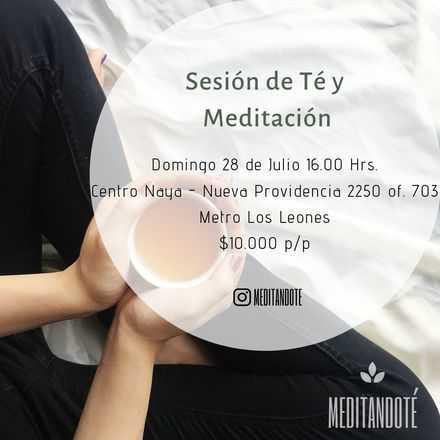 Sesión de Té y Meditación