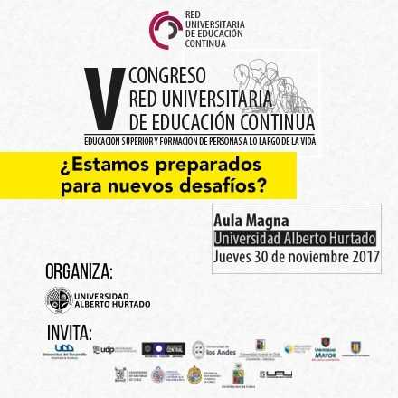 V Congreso Red Universitaria de Educación Continua