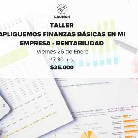 Taller: Apliquemos finanzas básicas en mi empresa - Rentabilidad