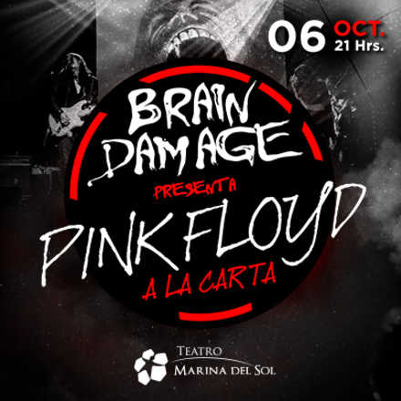 Tributo a Pink Floyd con Brain Damage